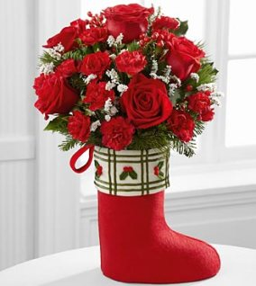12-C6_330x370_deluxe - FTD Celebrate the Season Bouquet