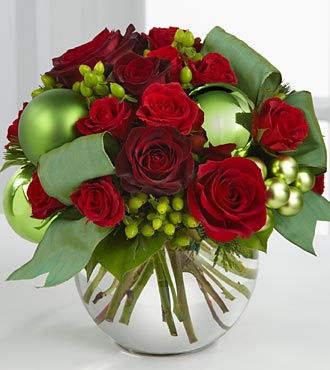 B9-4365_330x370_deluxe - FTD Holiday Bliss Bouquet