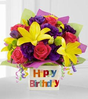 BDB - FTD Happy Birthday Bouquet