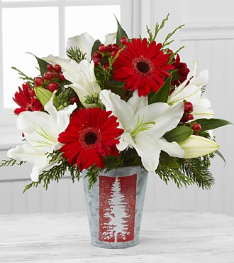BH38_330x370 - FTD Christmas living holiday bouquet
