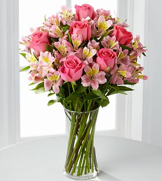 F807 - Dreamland Pink Bouquet