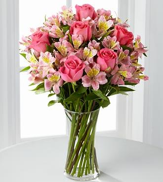F807 - Dreamland Pink Bouquet