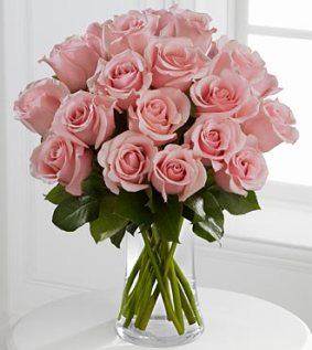 FA58 - Perfectly pink rose bouquet