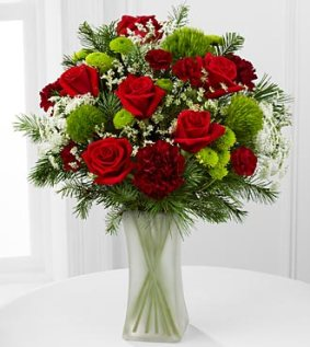 FK250_330x370 - Season mixed holiday bouquet