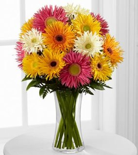 FK83 - Flowering Confetti Daisy Bouquet