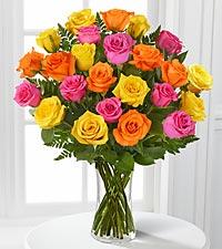 FMIR - Bright Blush Rose Bouquet