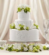 W11-4647 - FTD Bloom & Blossom Cake Decor