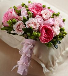 W14-4649 - FTD Pink Profusion bouquet