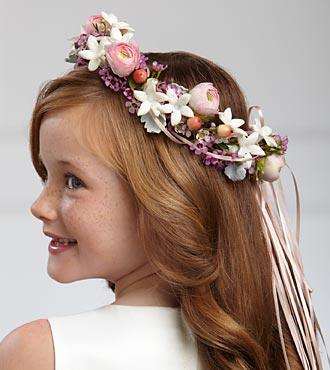 W23-4676 - FTD Lila Rose Headpiece